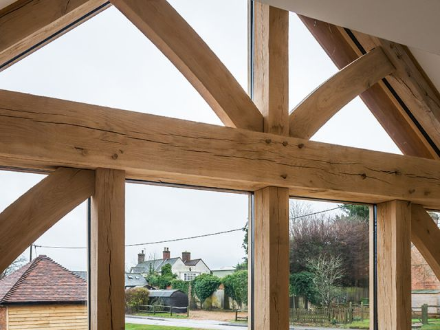 Visual Grade Oak Beams