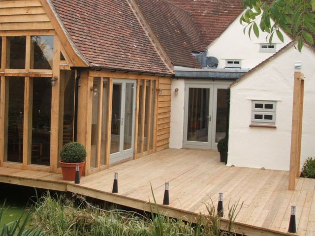 Reeded Decking